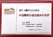 2009中国最具价值动漫培训品牌