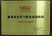 2014最具综合实力职业培训机构